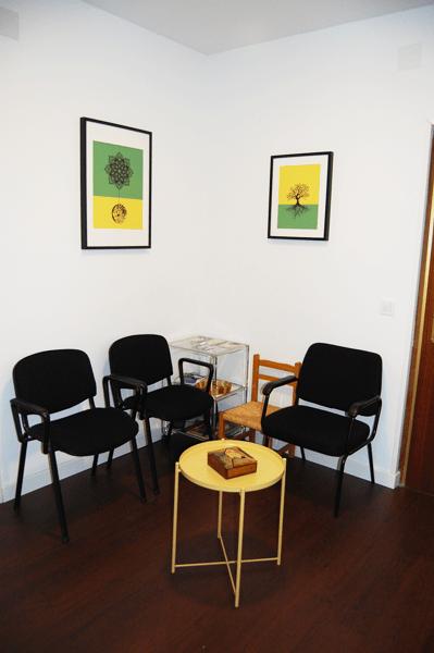 psicólogo | sala de espera | psicología Arganzuela