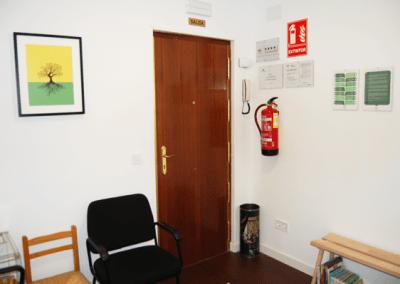 psicólogo Arganzuela | entrada sala de espera